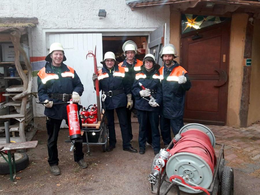 Unser Feuerwehr Kernteam